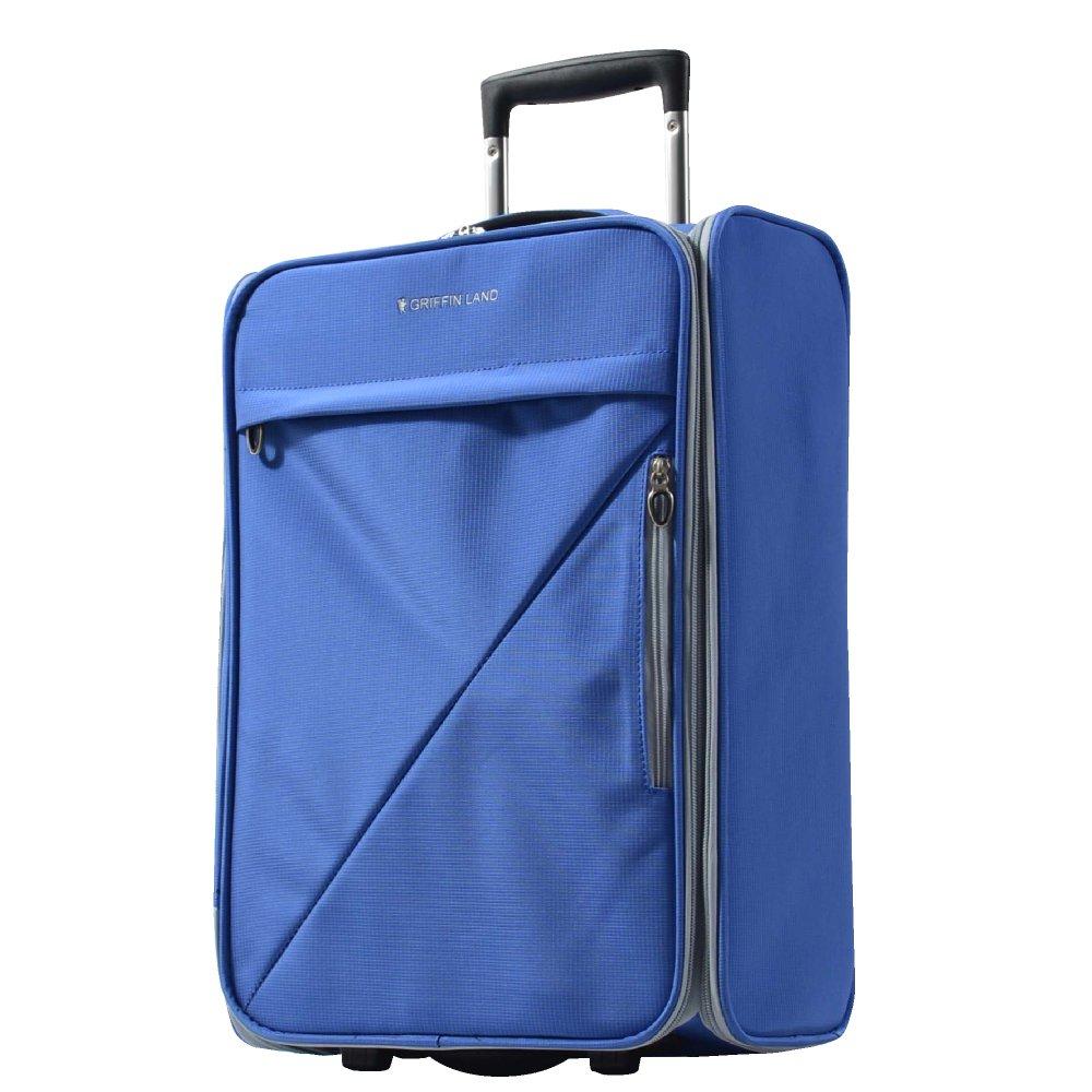 [グリフィンランド]_Griffinland 折りたたみスーツケース ソフトタイプ 超軽量 大容量 機内持ち込み MS-1063R3 6色展開 【全国無料配送】 B079DPKXMD 機内持込可能サイズ ブルー ブルー 機内持込可能サイズ
