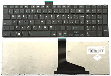 Teclado italiana para ordenador portátil Toshiba Satellite L850 – 9z.n7usv.a0e
