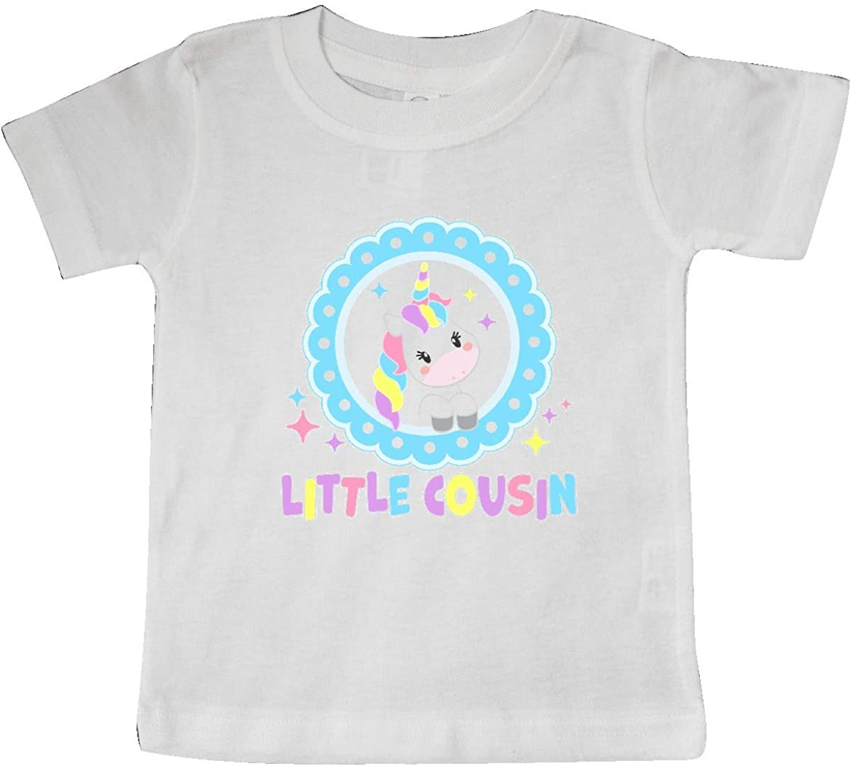 inktastic Little Cousin Cute Unicorn Baby T-Shirt