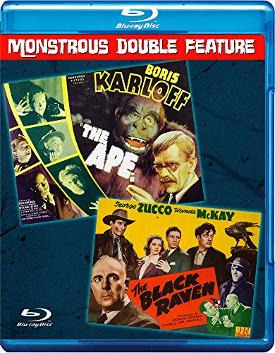 THE APE - THE BLACK RAVEN Double Feature Blu-ray