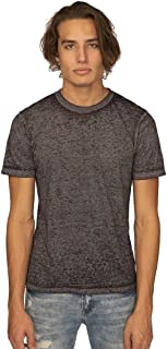 product image for Royal Apparel Unisex Burnout Wash Tee in Heather Charcoal Size Medium | Cotton/Polyester