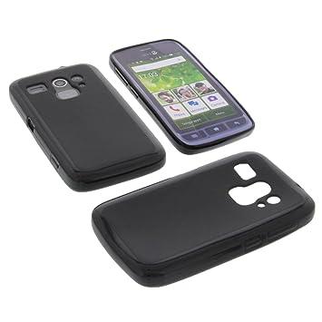 pretty nice 218b1 56a5a Protective case for Doro Liberto 820 Mini Rubber TPU mobile phone cover  black