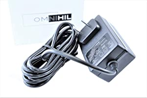 [UL Listed] OMNIHIL 8 Feet Long AC/DC Power Adapter Compatible with Electrolux Ergorapido with Brushroll Clean Xtra EL2081 Type A
