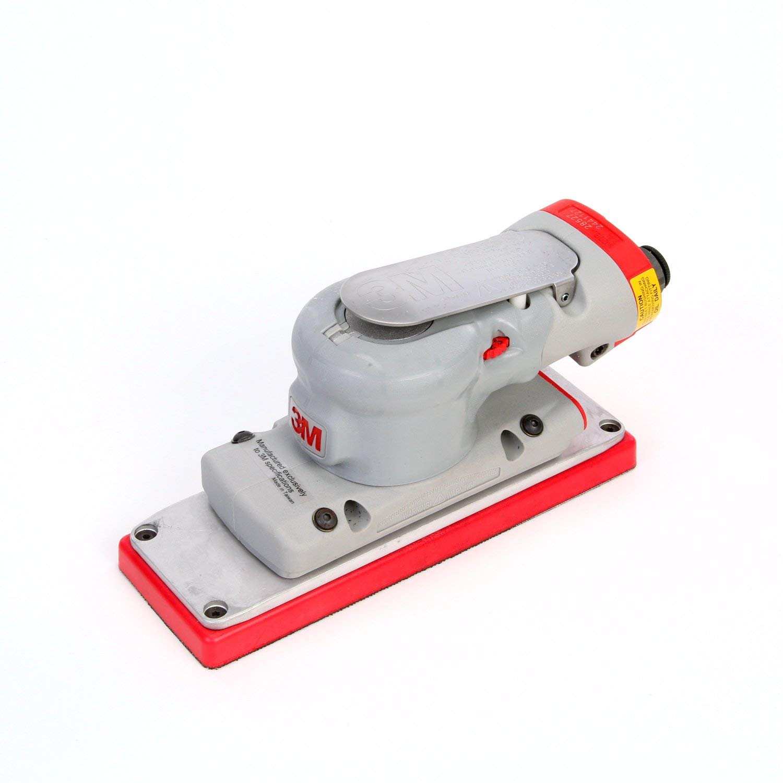 3M Elite Non-Vacuum Random Orbital Sander, 28527, 70 mm x 198 mm, 1/8 in Orbit, 1 per case