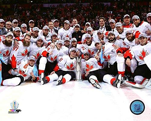 "NHL Team Canada 2016 World Cup of Hockey Team Celebration Photo (Size: 8"" x 10"")"