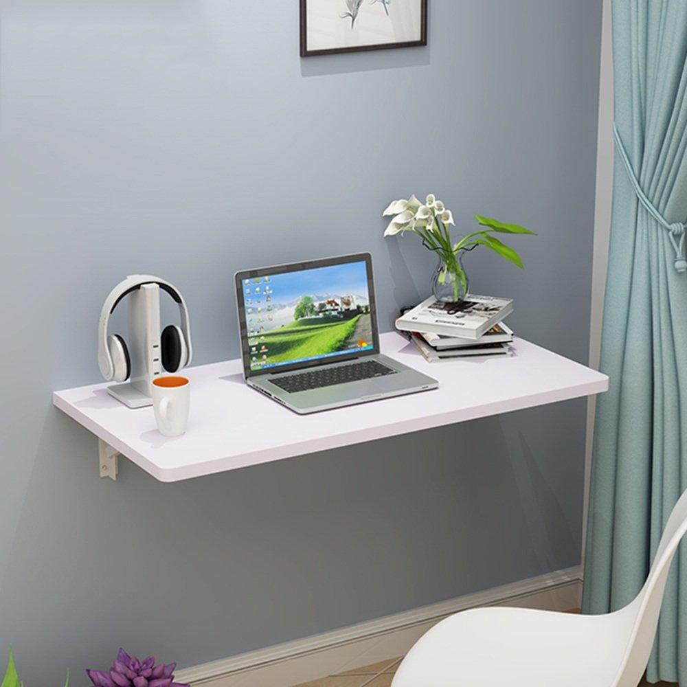 マチョン コンピュータデスク 折りたたみテーブルシンプルな家庭用ダイニングテーブルの壁サイズのテーブルのオプション (色 : C, サイズ さいず : 120cm*40cm) B07DZQW22D 120cm*40cm|C C 120cm*40cm