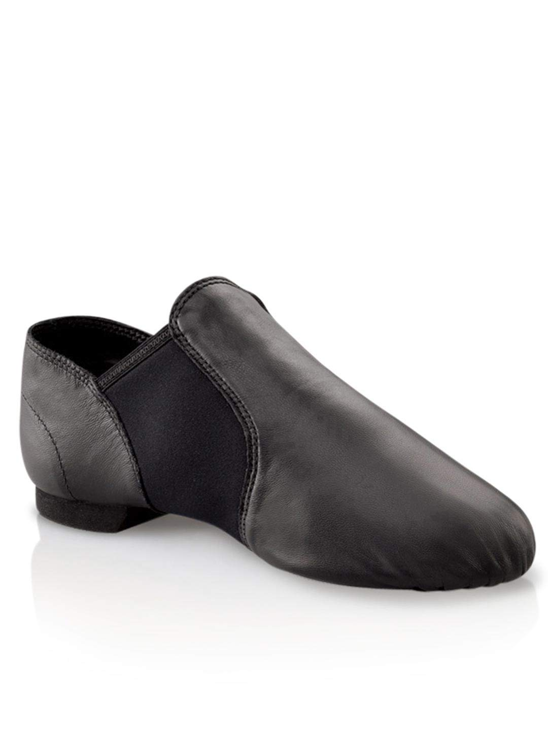 Capezio ''E'' Series EJ2C Jazz Slip On(Little Kid/Big Kid),Black,3 M US Little Kid