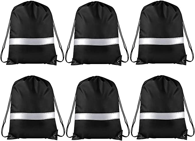 Industrial Container L Drawstring Backpack Sports Athletic Gym Cinch Sack String Storage Bags for Hiking Travel Beach