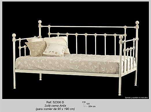 Art-Domus - 52300 - Sofa Cama Antix. Colchón Y Somier No ...