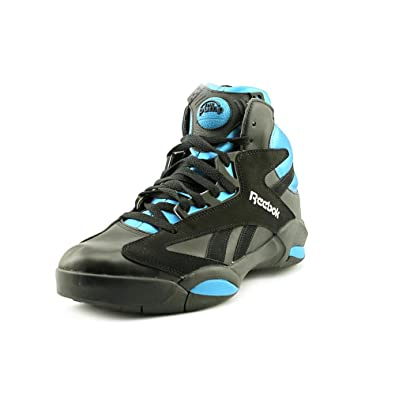 2b40912e6c76 Reebok Shaq Attaq Mens in Black Azure