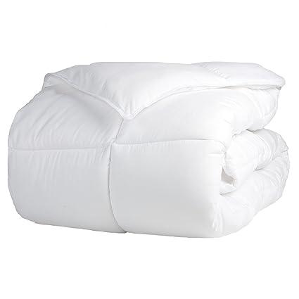Amazon Superior Solid White Down Alternative Comforter Duvet