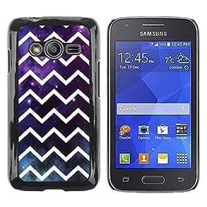 FECELL CITY // Duro Aluminio Pegatina PC Caso decorativo Funda Carcasa de Protección para Samsung Galaxy Ace 4 G313 SM-G313F // Universe God Futuristic