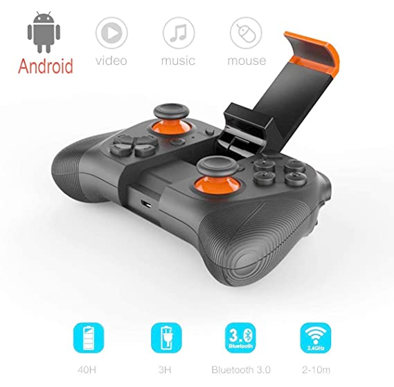 MOCUTE Wireless 3 0 Joystick Gamepad Controller with Clip for Samsung  Galaxy S9 /S9+ Galaxy S8 Huawei, Google Meizu oppo vivo series of Android