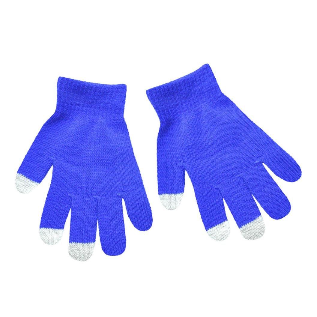 Huihong baby handschuhe süß candy farbe winter warme handschuhe für baby jungen mädchen 6-12 Jahre alt Huihong1143