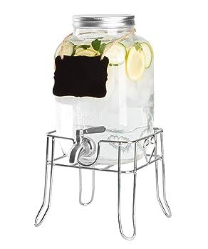 Ilyapa Pack Of 2 Glass Beverage Dispenser