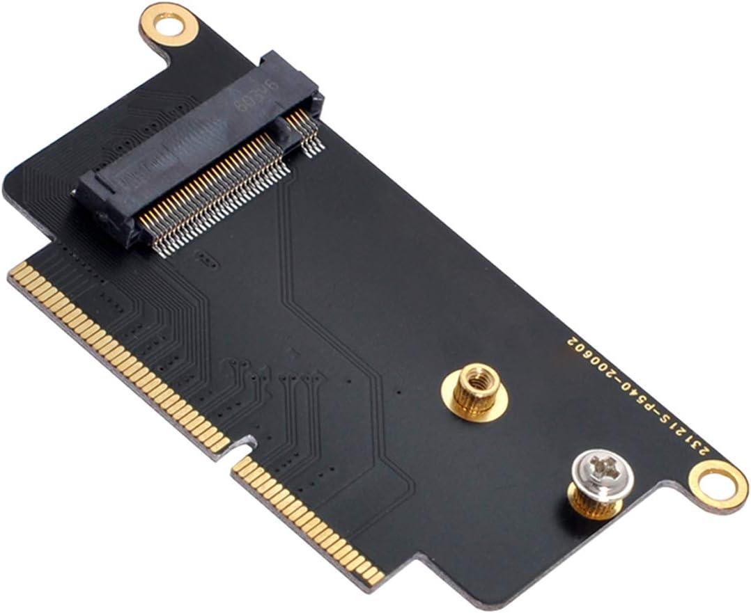 Tarjeta de conversión M.2 NGFF M-Key Macbook Pro A1708 A1707
