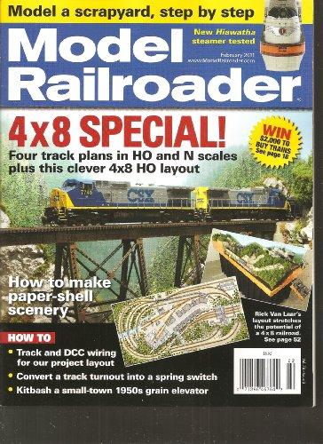 Model Railroader Magazine (February, - Scale Hudson Ho