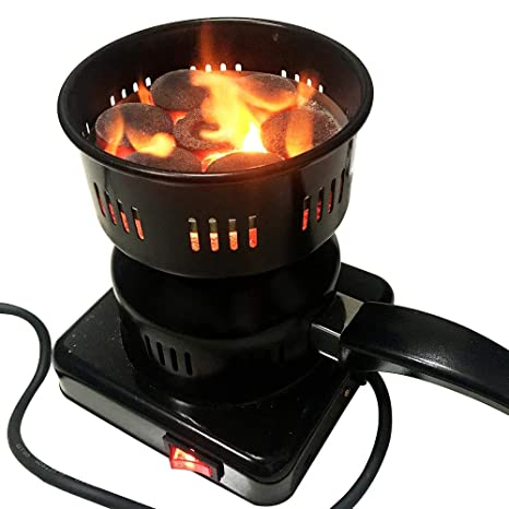 Arrancador de carbón eléctrico multifunción, estufa de ...