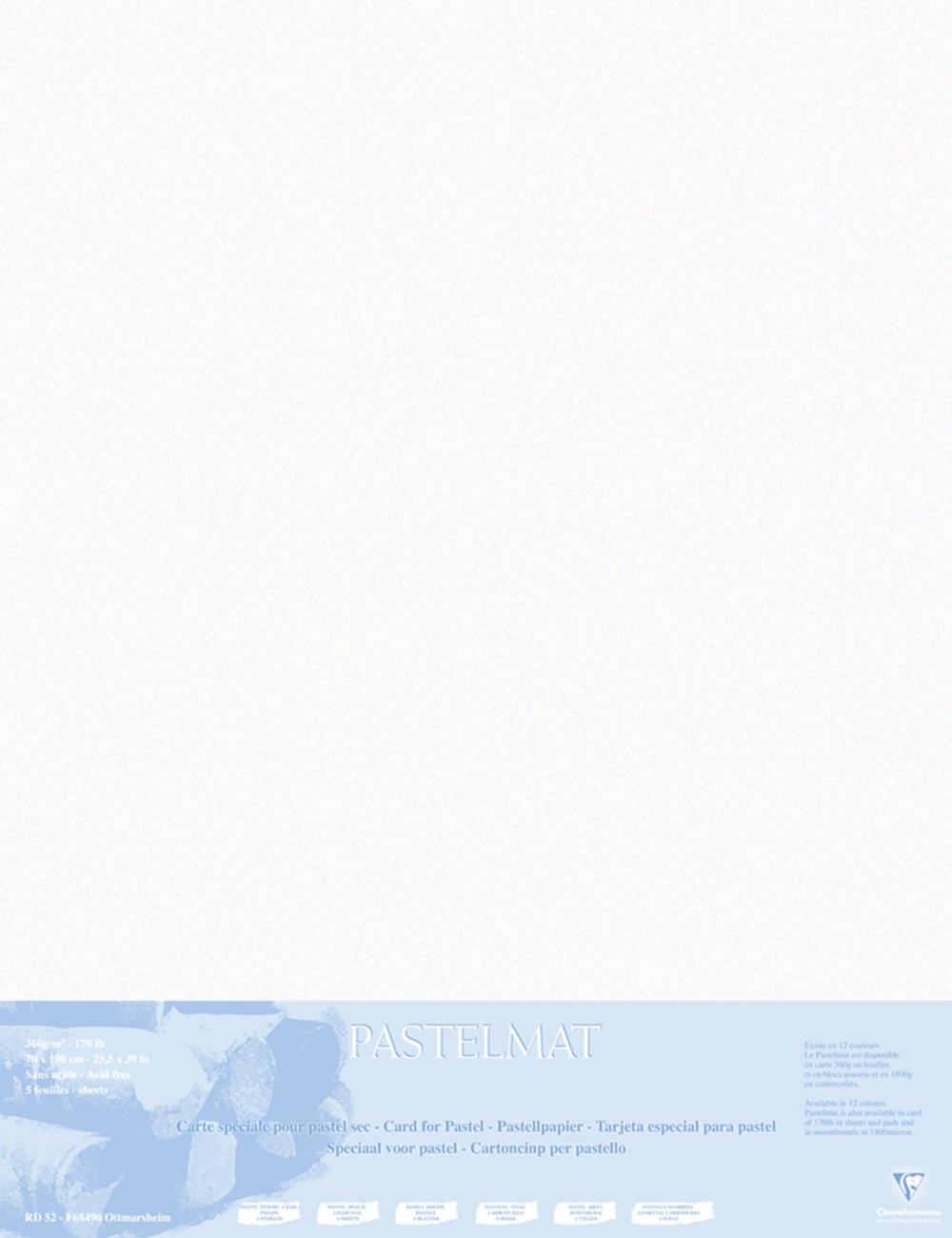 Clairefontaine 96011C Packung (mit 5 5 5 Zeichenbögen Pastelmat, 50 x 70 cm, 360 g, ideal für Trockentechniken und Pastell) braun B017NEI08O | Tadellos  e4193f