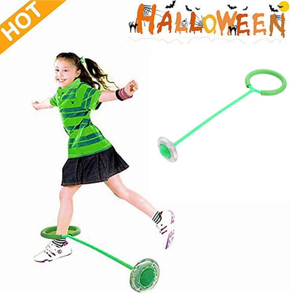 Kid/'s Flashing Ankle Skipper Jump Rope Skip Ball In or Outdoor Game 1 Piece