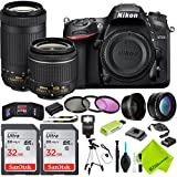 Nikon D7200 DSLR Camera with Nikon 18-55mm f/3.5-5.6G Lens and Nikon 70-300mm Lens 2 Lenses Kit