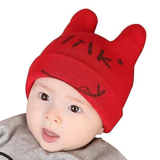 Amazon.com  Baby Boys Girls Keep Warm Head Cap New Born Baby Winter Hats  Soft Hat-A2  Clothing ac3f91037119
