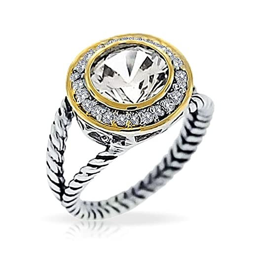 images rope settings eringvoyeur diamond best look engagement rose and rings ring alikes halo on cabled cable pave gold