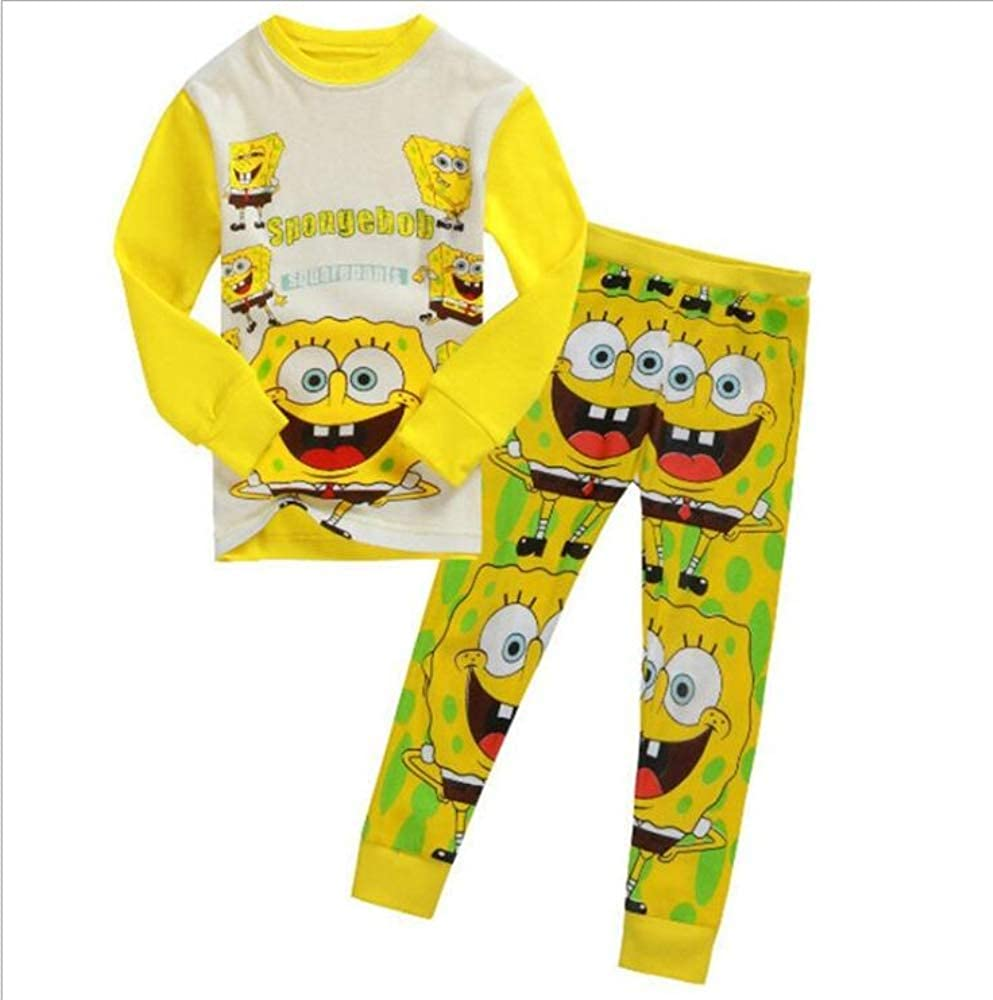 Childrens Pajamas Kids Short Sleeve Pijama Sleepwear Clothing Set 5 Years