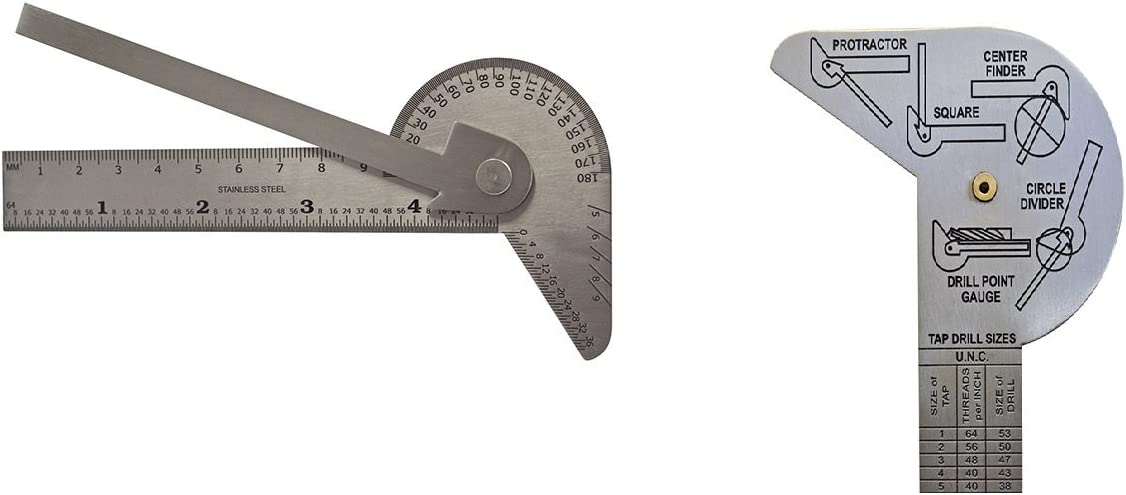 Drill Bit Diameter Center Twist Angle Gauge Grinding Sharping Tool Useful H
