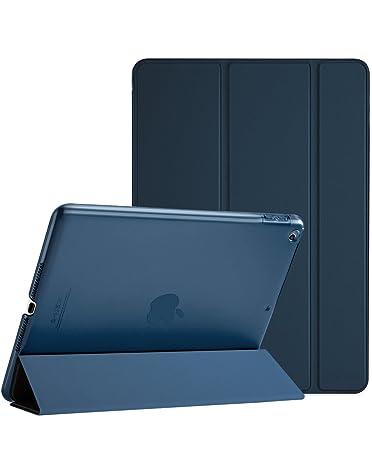 ProCase iPad 9.7 Hülle 2018 iPad 6 Generation /2017 iPad 5 Generation Tasche- Äußerst Schlank Leichtgewicht Ständer mit Trans
