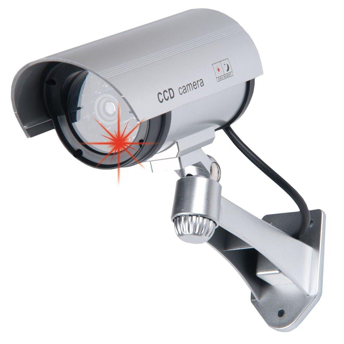 First Alarma Wireless Dummy Camera LED Webcam: Amazon.es ...