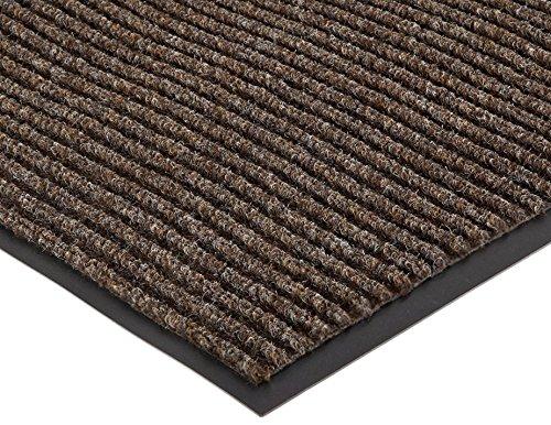 Extra Large Heavy Duty Front Door Mat Outdoor Indoor Entrance Doormat Waterproof Low Profile Entrance Rug Patio Grass Snow Scraper Rubber Back - Durable and Easy to Clean (36 x 60, Coffee)