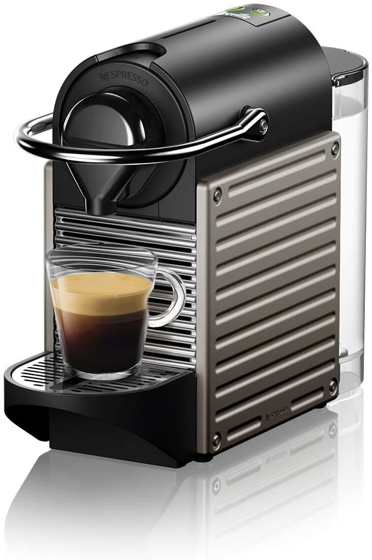 Breville-Nespresso USA BEC430TTN1BUC1 Nespresso Pixie by Breville-Titan Single-serve, capsule espresso maker, One Size