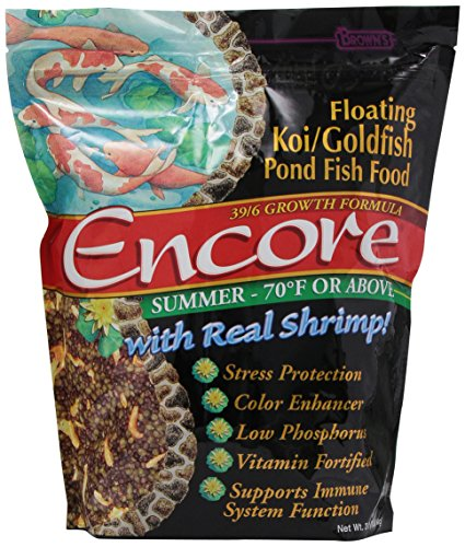 Encore summer koi goldfish food 3 pound import it all for Koi fish food