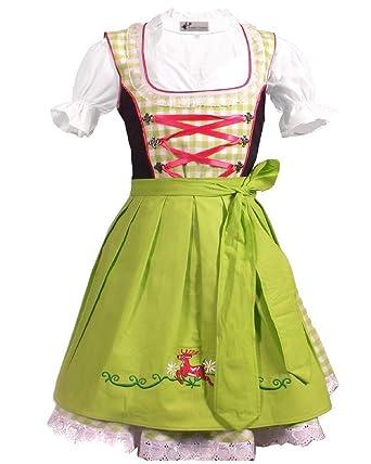 09d6e323be196 German Dirndl Wear Bavarian 3pcs Children Dirndl Dress Oktoberfest  2T,4T,6,8,10,11,12