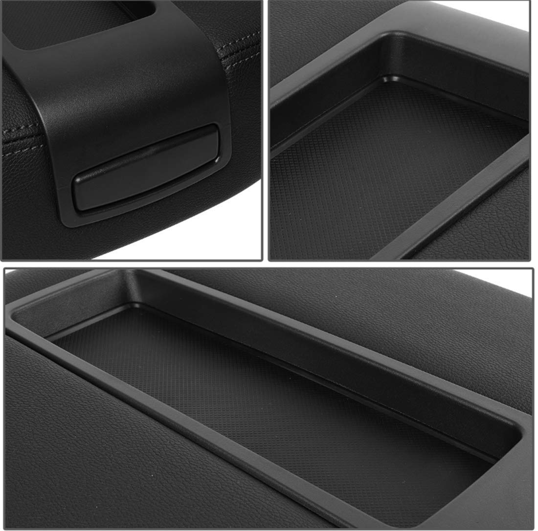 JAUTO Center Console Lid Kit for Select GM Vehicles - Replaces 15217111 15941534 - Black by JAUTO (Image #5)