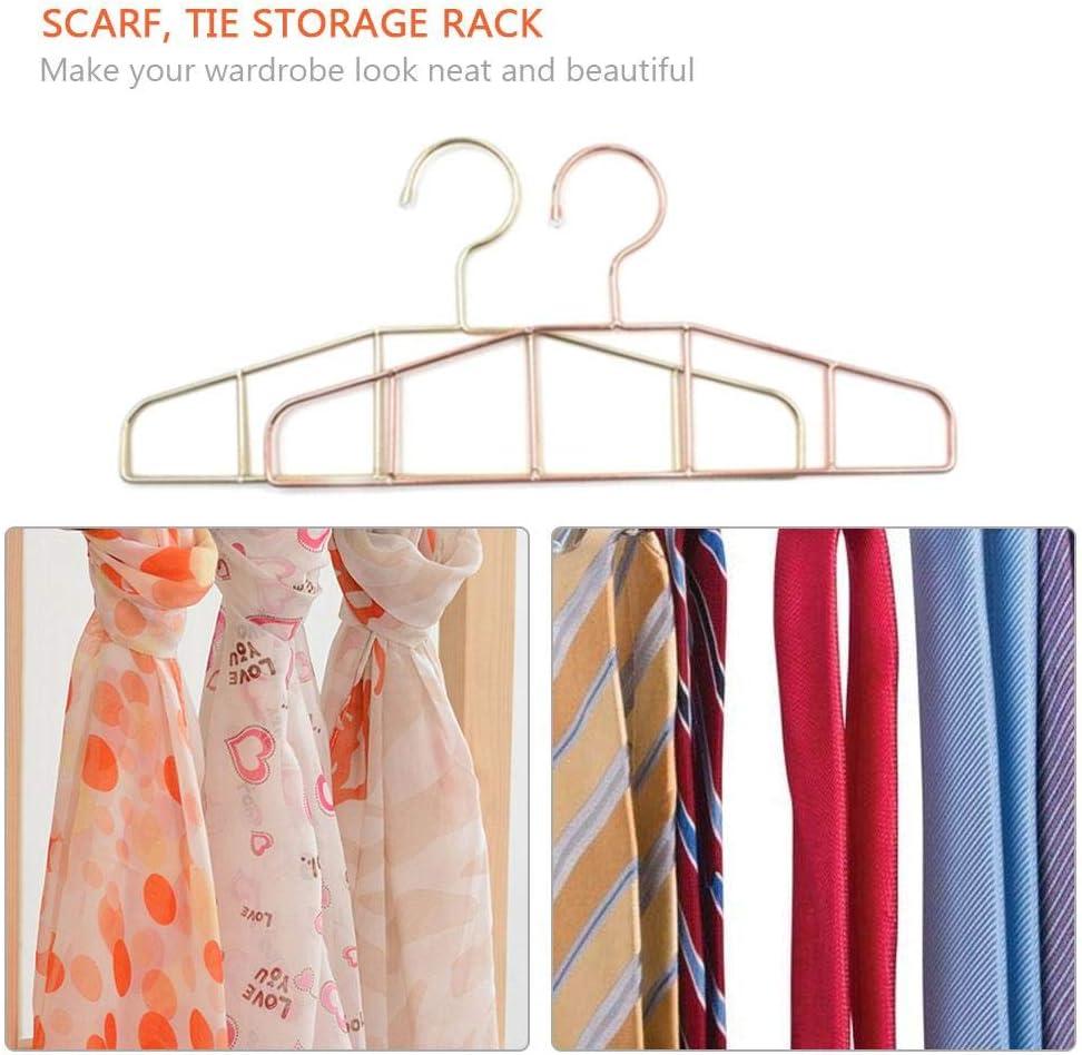 Perchas para bufandas minimalistas, para armario, perchas de ...