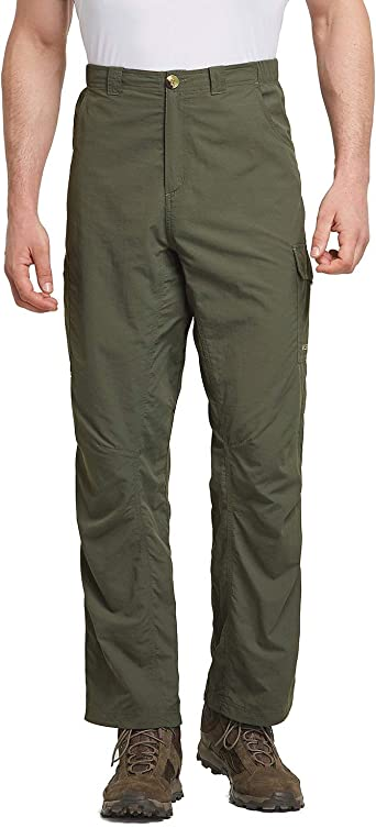 Quick Dry Lightweight Outdoor Pants BALEAF Mens Hiking Cargo Pants UPF 50