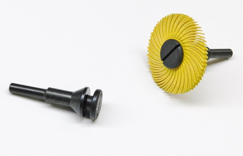 "Mini Mandrel 1//8/"" Threaded w-Nut Body 1//4/"" Shank Miniature Thread Nut Holder"