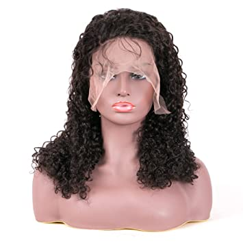amazon com lady corner pre plucked 360 lace frontal wig with bady