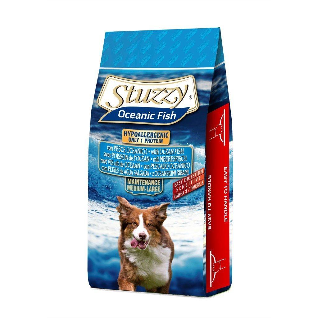 Stuzzy Oceanic Fish - Pienso con pescado oceanico monoproteico hipoalergénico de 12 kg.: Amazon.es: Productos para mascotas