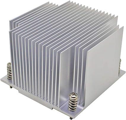 2u Cpu Kühler Für Intel Lga 1155 1156 1150 1151 Passive Kühlung Computer Zubehör