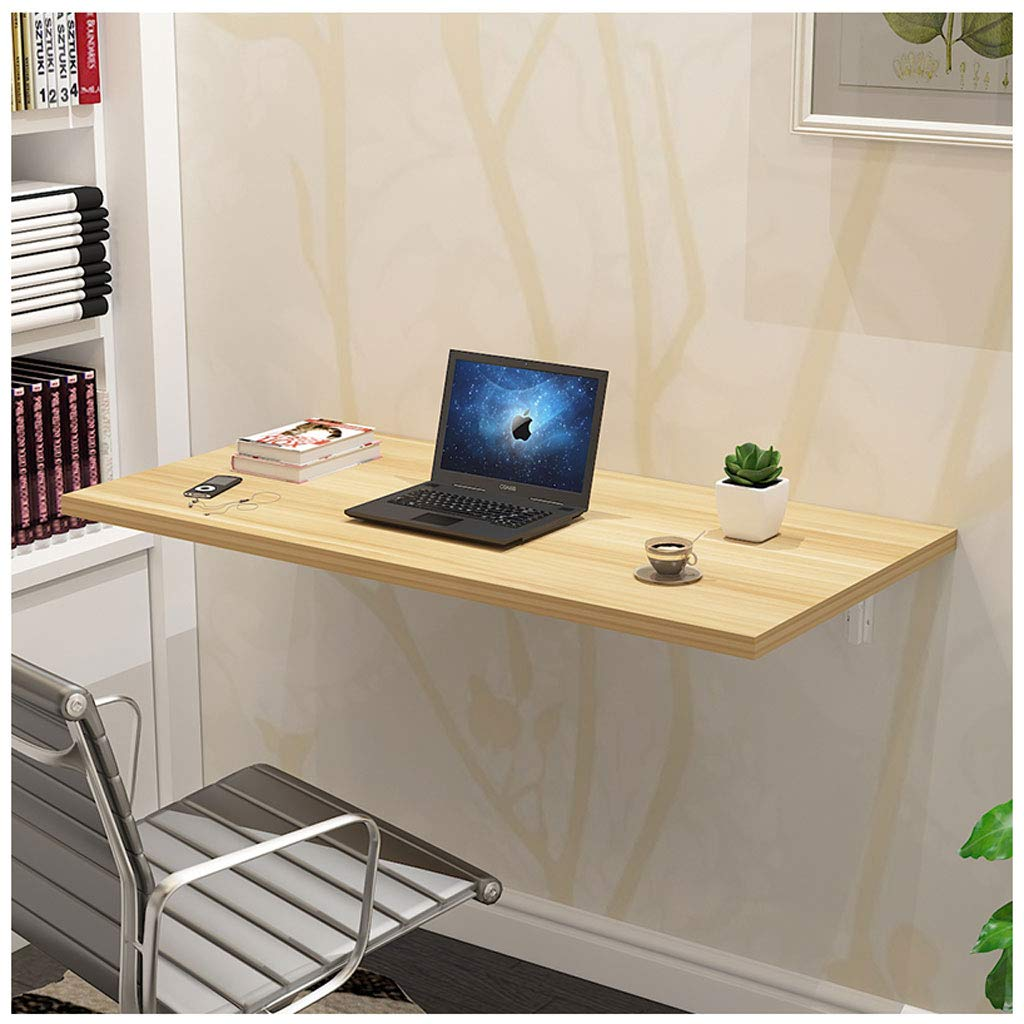 Wood 5030cm Wall Table Wall Drop Sheet Table Folding Dining Space Saver Folding Desk Foldable Modern (color   White, Size   70  50cm)