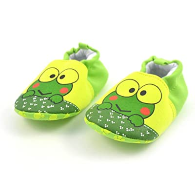 Baby Slippers, Foutou Newborn Lovely Animal Print Toddler First Walkers Shoes Flats Soft Shoes