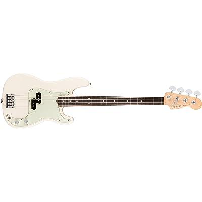 American Pro Precision Bass Olympic White RW + Etui