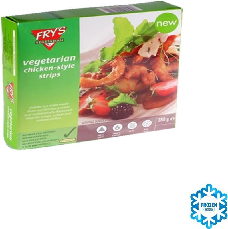 Frys Family DELICIAS (TIRAS) SABOR A POLLO (VEGANO) 380 GR ...