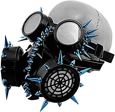 Steampunk Latex Goggles Costume Accessory