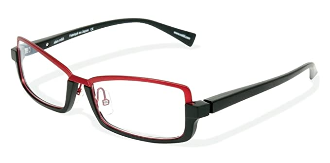 6d94956fe55 Image Unavailable. Image not available for. Color  Alain Mikli 0A01330  BLACK MAT RED Optical