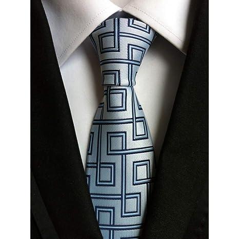 WOXHY 8 Cm Hombres Corbatas Corbata de Los Hombres Vestidos de ...