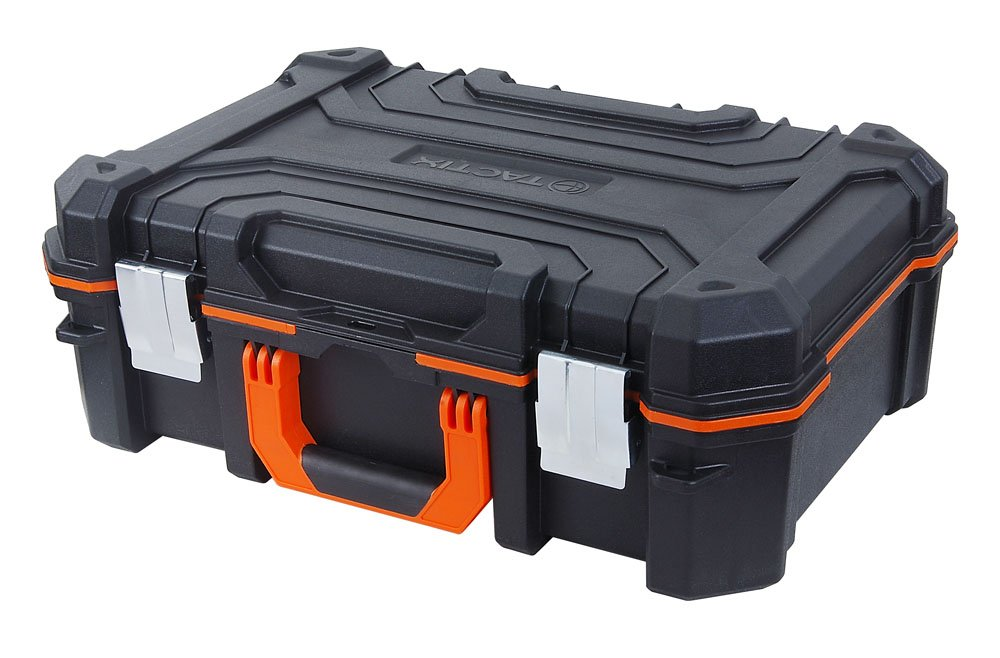 Tactix Tool Case, Tool, Removable Dividers, 2 Extra Pockets in the Pocket on Front Cover, Insert for Tool Bumper, 320064 2Extra Pockets in the Pocket on Front Cover